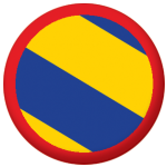 Nivernais Former Province Flag 25mm Pin Button Badge